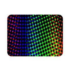 Digitally Created Halftone Dots Abstract Background Design Double Sided Flano Blanket (mini)