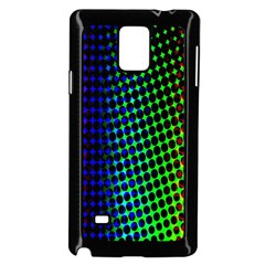Digitally Created Halftone Dots Abstract Background Design Samsung Galaxy Note 4 Case (black)