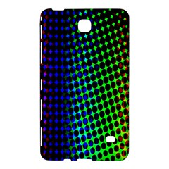 Digitally Created Halftone Dots Abstract Background Design Samsung Galaxy Tab 4 (7 ) Hardshell Case