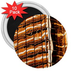 Abstract Architecture Background 3  Magnets (10 Pack)