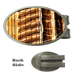 Abstract Architecture Background Money Clips (oval)