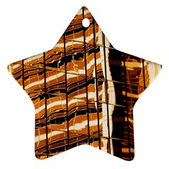 Abstract Architecture Background Star Ornament (two Sides)
