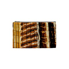 Abstract Architecture Background Cosmetic Bag (small)
