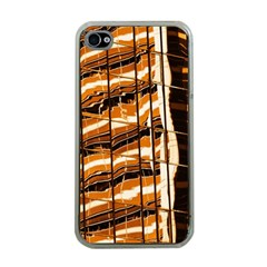 Abstract Architecture Background Apple Iphone 4 Case (clear)