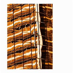 Abstract Architecture Background Small Garden Flag (two Sides)