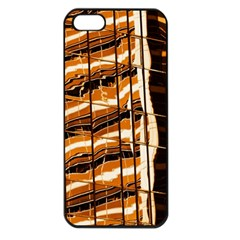 Abstract Architecture Background Apple Iphone 5 Seamless Case (black)