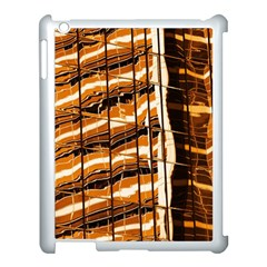 Abstract Architecture Background Apple Ipad 3/4 Case (white)