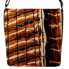 Abstract Architecture Background Flap Messenger Bag (s)