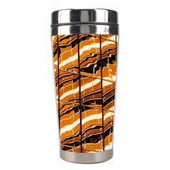 Abstract Architecture Background Stainless Steel Travel Tumblers
