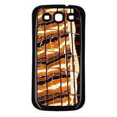 Abstract Architecture Background Samsung Galaxy S3 Back Case (black)