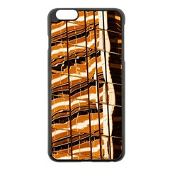 Abstract Architecture Background Apple Iphone 6 Plus/6s Plus Black Enamel Case