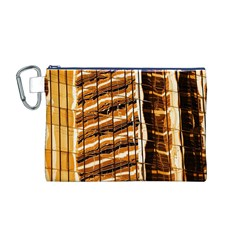 Abstract Architecture Background Canvas Cosmetic Bag (m)