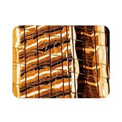Abstract Architecture Background Double Sided Flano Blanket (mini)