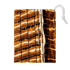 Abstract Architecture Background Drawstring Pouches (extra Large)