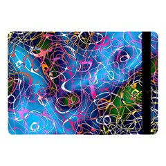 Background Chaos Mess Colorful Apple Ipad Pro 10 5   Flip Case