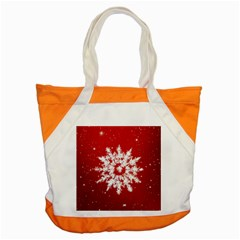 Background Christmas Star Accent Tote Bag