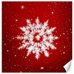 Background Christmas Star Canvas 20  X 20