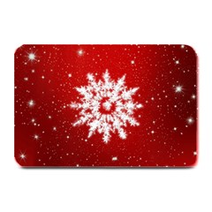 Background Christmas Star Plate Mats