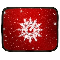 Background Christmas Star Netbook Case (xl)