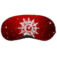 Background Christmas Star Sleeping Masks
