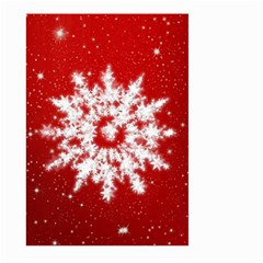 Background Christmas Star Large Garden Flag (two Sides)