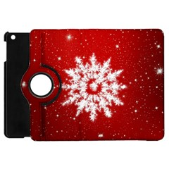 Background Christmas Star Apple Ipad Mini Flip 360 Case