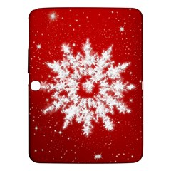 Background Christmas Star Samsung Galaxy Tab 3 (10 1 ) P5200 Hardshell Case