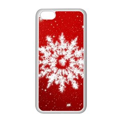 Background Christmas Star Apple Iphone 5c Seamless Case (white)