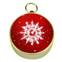 Background Christmas Star Gold Compasses