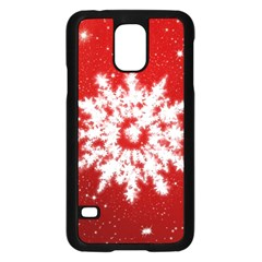 Background Christmas Star Samsung Galaxy S5 Case (black)