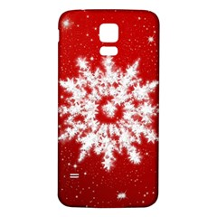 Background Christmas Star Samsung Galaxy S5 Back Case (white)