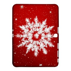 Background Christmas Star Samsung Galaxy Tab 4 (10 1 ) Hardshell Case