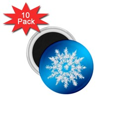 Background Christmas Star 1 75  Magnets (10 Pack)