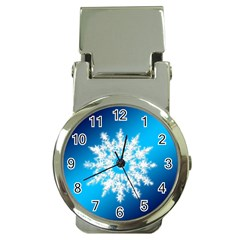 Background Christmas Star Money Clip Watches