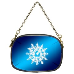 Background Christmas Star Chain Purses (one Side)
