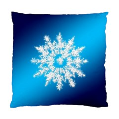 Background Christmas Star Standard Cushion Case (two Sides)
