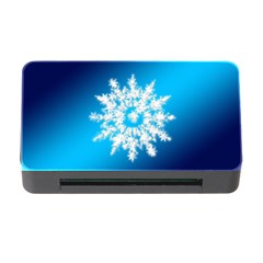 Background Christmas Star Memory Card Reader With Cf