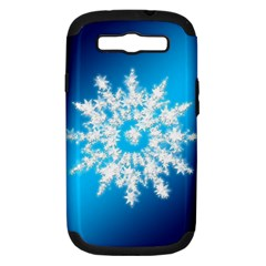 Background Christmas Star Samsung Galaxy S Iii Hardshell Case (pc+silicone)