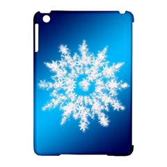 Background Christmas Star Apple Ipad Mini Hardshell Case (compatible With Smart Cover)