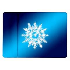 Background Christmas Star Samsung Galaxy Tab 10 1  P7500 Flip Case