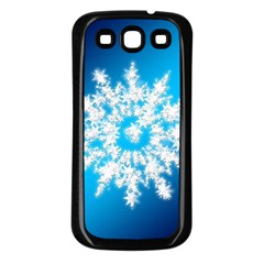 Background Christmas Star Samsung Galaxy S3 Back Case (black)