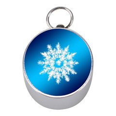 Background Christmas Star Mini Silver Compasses