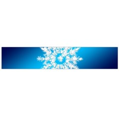 Background Christmas Star Flano Scarf (large)