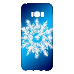 Background Christmas Star Samsung Galaxy S8 Plus Hardshell Case