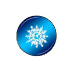 Background Christmas Star Hat Clip Ball Marker (10 Pack)