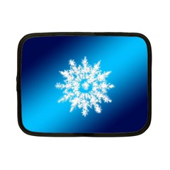 Background Christmas Star Netbook Case (small)