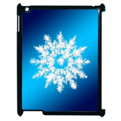 Background Christmas Star Apple Ipad 2 Case (black)