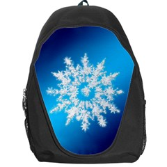 Background Christmas Star Backpack Bag