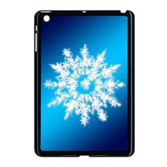Background Christmas Star Apple Ipad Mini Case (black)