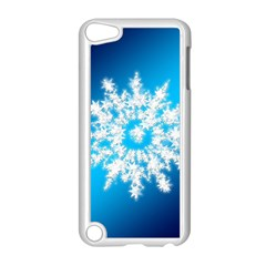 Background Christmas Star Apple Ipod Touch 5 Case (white)
